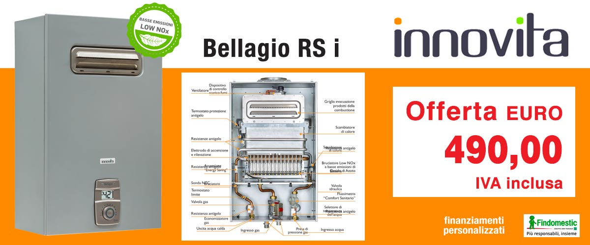 INNOVITA - Scaldabagno Bellagio RS i